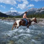 The Cowboy Trail at the Elbow River