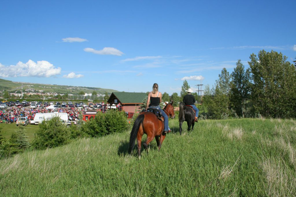 The Cowboy Trail in Cochrane